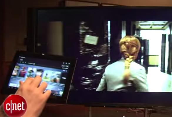 CNet Video Capture showing Tablet App