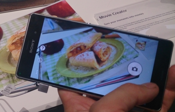 Food Recognition Feature at IFA 2014