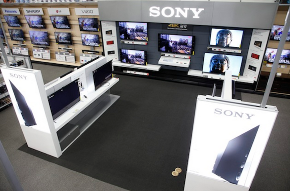 Sony Retail Experience at Best Buy